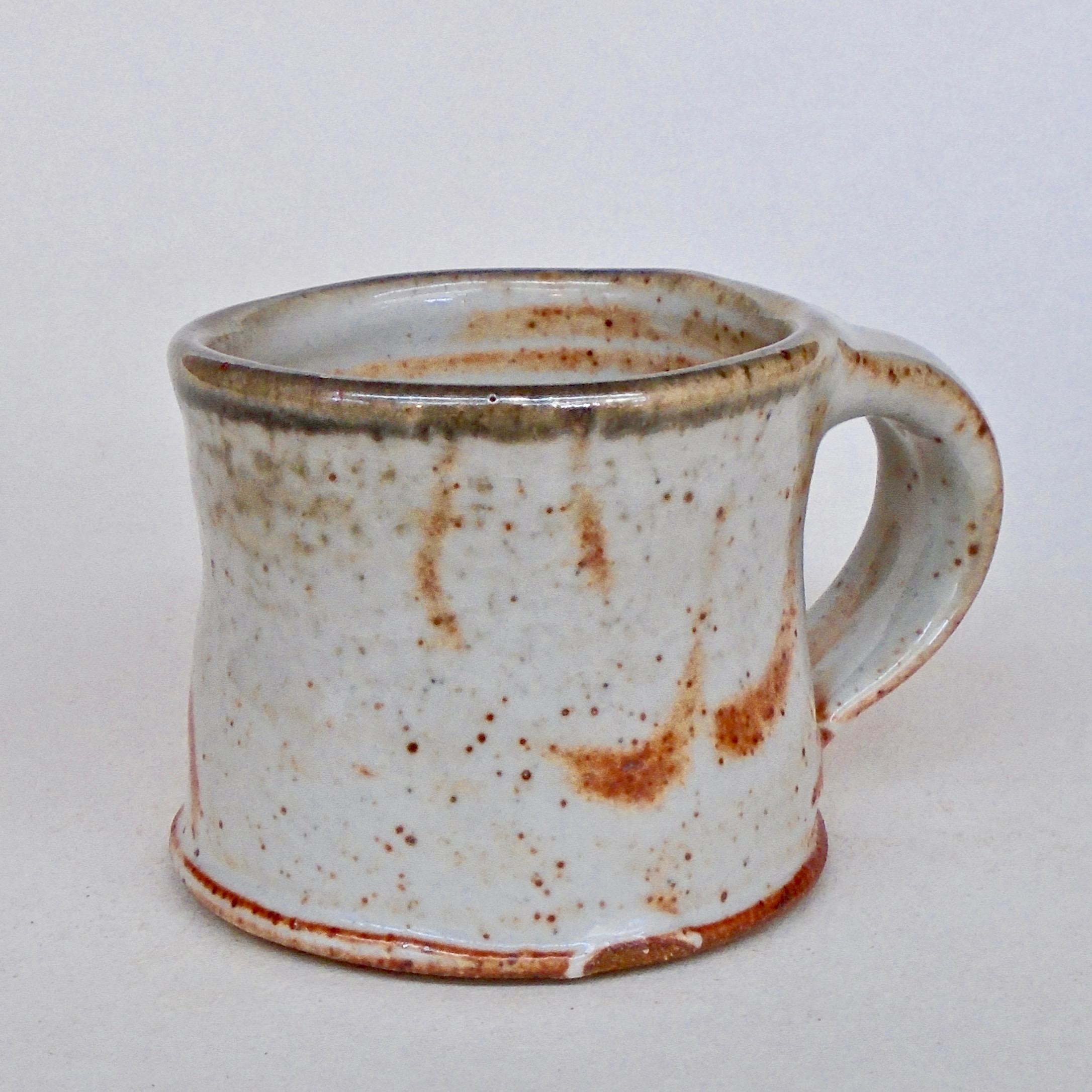 JL17: Small White Shino Mug