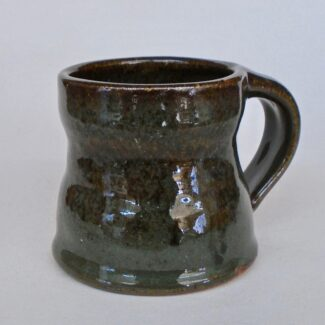 JL16: Small Dark Celadon Mug