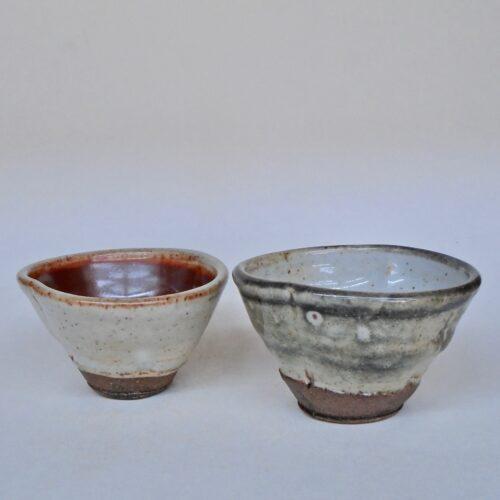 JL45: Set of Shino Snack Bowls