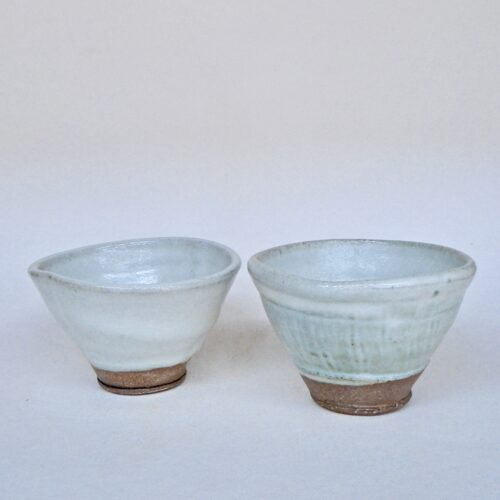 JL46: Set of Anne's White Snack Bowls