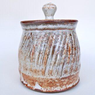 JL83: Small Shino Covered Jar