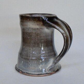 JL20- Carbon Trap Shino Large Mug
