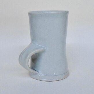 JL42- Transparent Tall Porcelain Mug