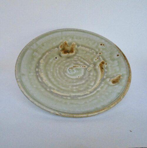JL100- Ashy Porcelain Plate