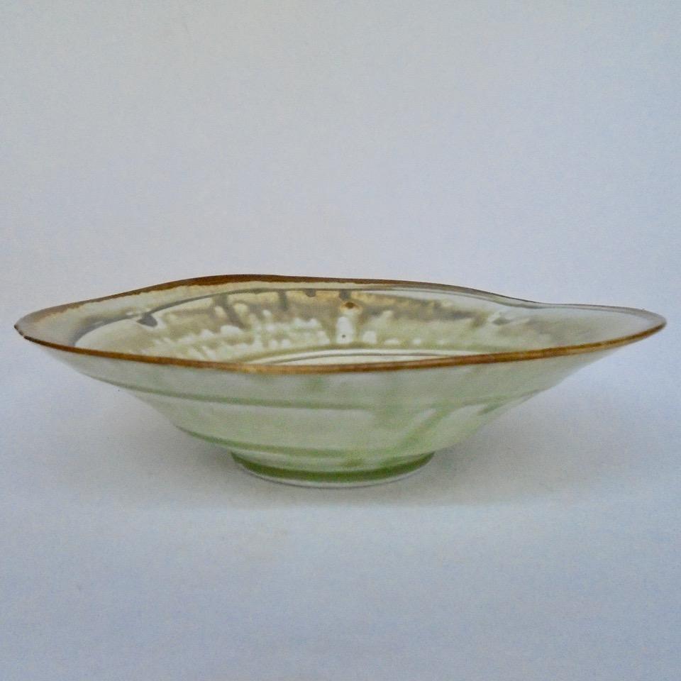 JL33- Medium Ashy Swirl Bowl