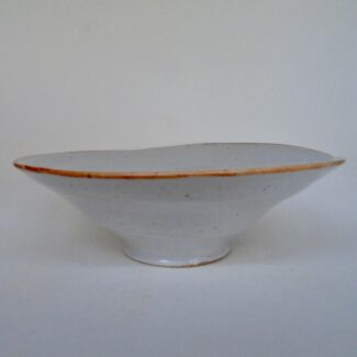 JL34- Medium Shino Swirl Bowl