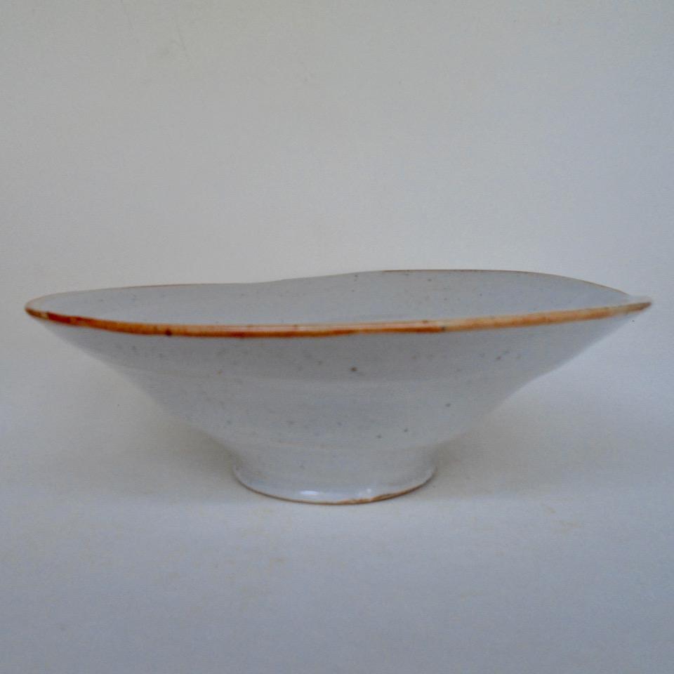 JL34- Medium Shino Swirl Bowl