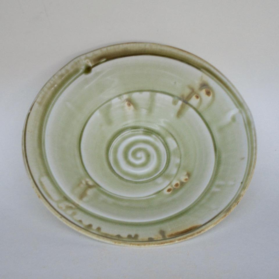JL35- Medium Ashy Swirl Bowl