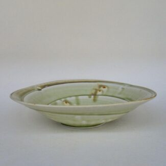 JL35- Medium Ashy Swirl Bowl