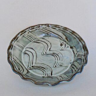 JL28: Anne's White Pie Plate
