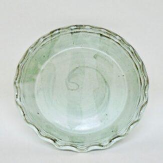 JL181: Anne's White Pie Plate
