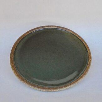 JL127- Celadon Roll Rim Plate