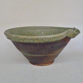 JL198- Large Ashy w wash Mixing Bowl