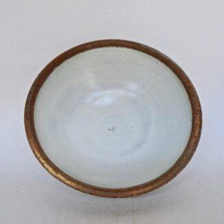 JL215- Anne's White w wash Small Bowl