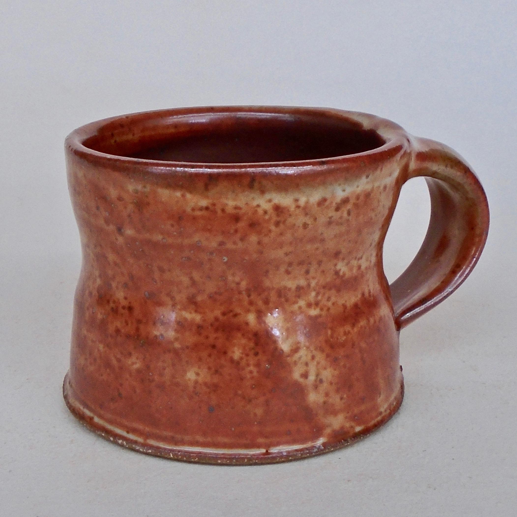 JL140: Small Red Shino Mug