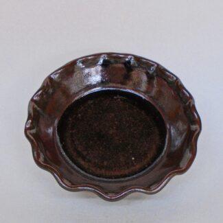 JL109: Small Tenmoku Pie Plate