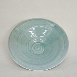 JL122 Small Ying Qing Swirl Bowl