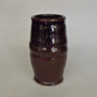 JL165: Tenmoku Porcelain Tumbler