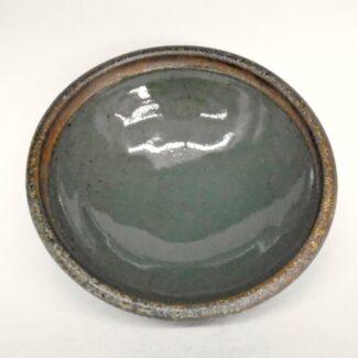 JL75- Celadon with Wash Soup Bowl