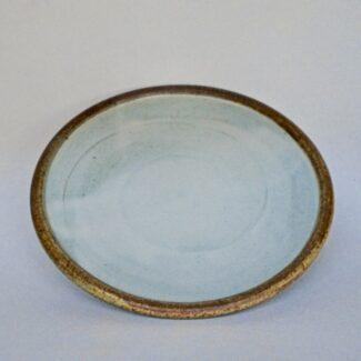 JL90 Anne's White Roll Rim Plate