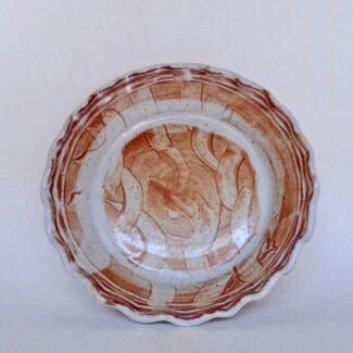 JL255: Shino Pie Plate