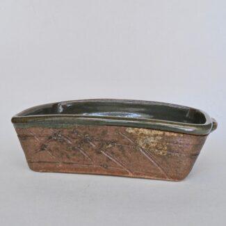 JL261: Celadon w/wash Bread Pan
