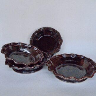 JL264: Tenmoku Small Pie Plates