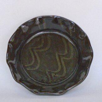 JL248: Dark Celadon Pie Plate