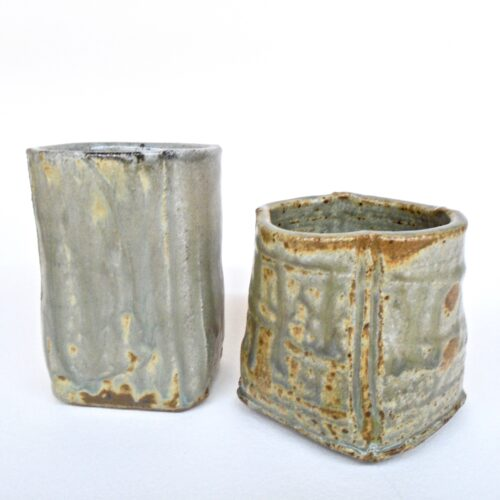 JL166: Two Small Cup/ Vases