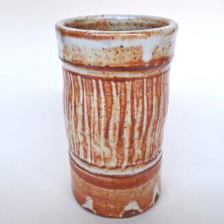 JL259: Shino Tumbler/ Vase