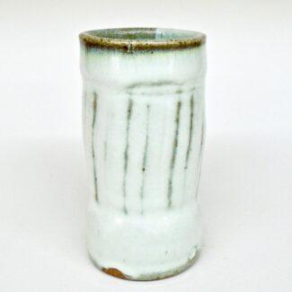 JL263: Anne's White Tumbler/ Vase
