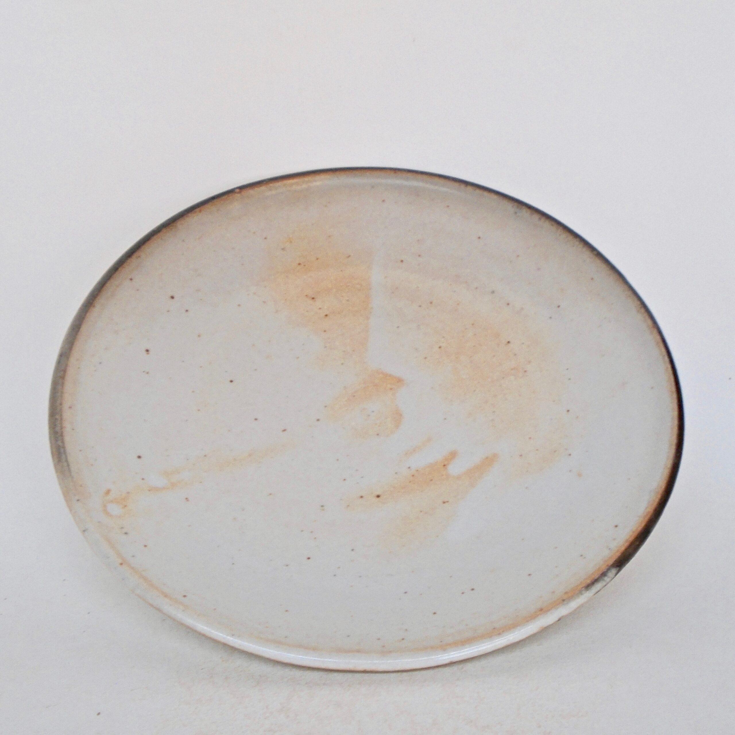 JL287: Shino Porcelain Plate