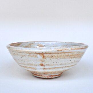 JL364: Shino Footed Bowl
