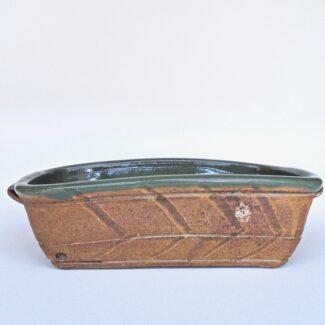 JL377: Celadon W/Wash Bread Pan