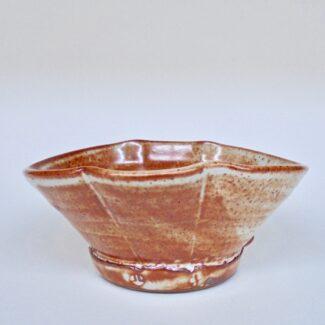 JL446: Shino Oval Bowl