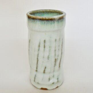 JL473: Anne's White Tumbler/Vase