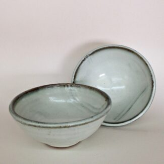 JL490: Anne's White Footed Bowl
